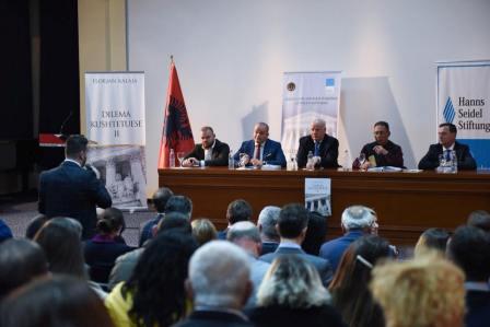 """Gjykata e Lartë e Republikës së Shqipërisë organizoi të mërkurën, datë 21.03.2018, aktivitetin me temë: """"Dilema Kushtetuese: Përqasje mbi zhvillimet e jurisprudencës së Gjykatës Kushtetuese dhe të Gjykatës së Lartë""""."""