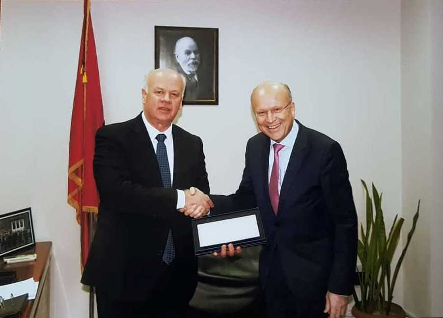 Me ftesë të Kryetarit të Gjykatës së Lartë Z. Xhezair Zaganjori, zhvilloi një vizitë zyrtare në Tiranë, Presidenti i Gjykatës Evropiane të Drejtësisë Z. Koen Lenaerts.