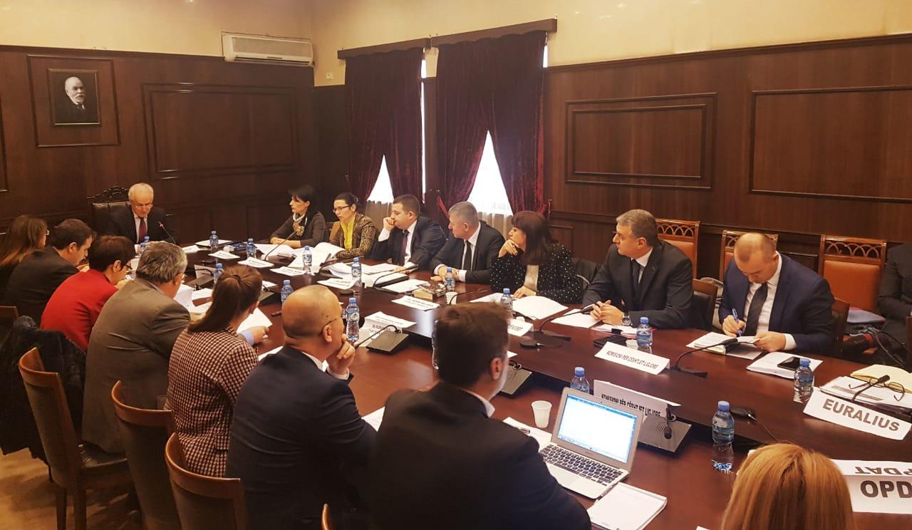 Mbledhja e parë e K.E.D 15.01.2019