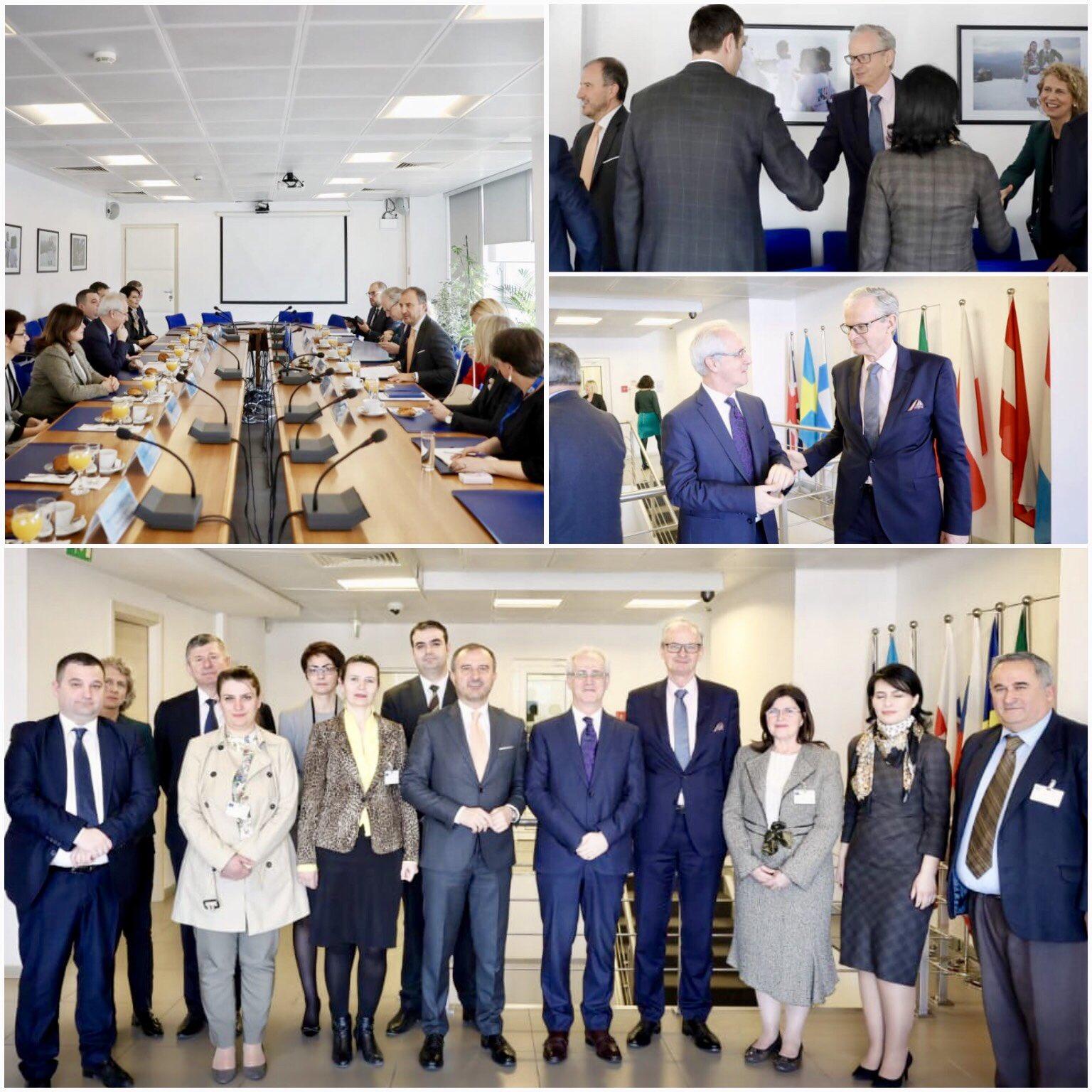 Drejtori i Përgjithshëm për Politikat Evropiane të Fqinjësisë dhe Zgjerimit Christian Danielsson, është takuar të enjten me anëtarët e Këshillit të Emërimeve në Drejtësi.