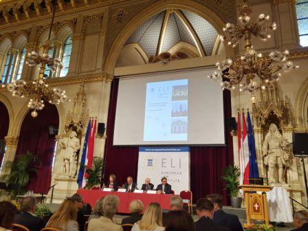 Me ftesë të Ministrit Federal të Drejtësisë të Austrisë Z.Wolfgang Brandstetter dhe Presidentes së ELI-t Znj.Diana Wallis, Kryetari i Gjykatës së Lartë Z.Xhezair Zaganjori mori pjesë në Konferencën Vjetore të Institutit për të Drejtën Evropiane (ELI).