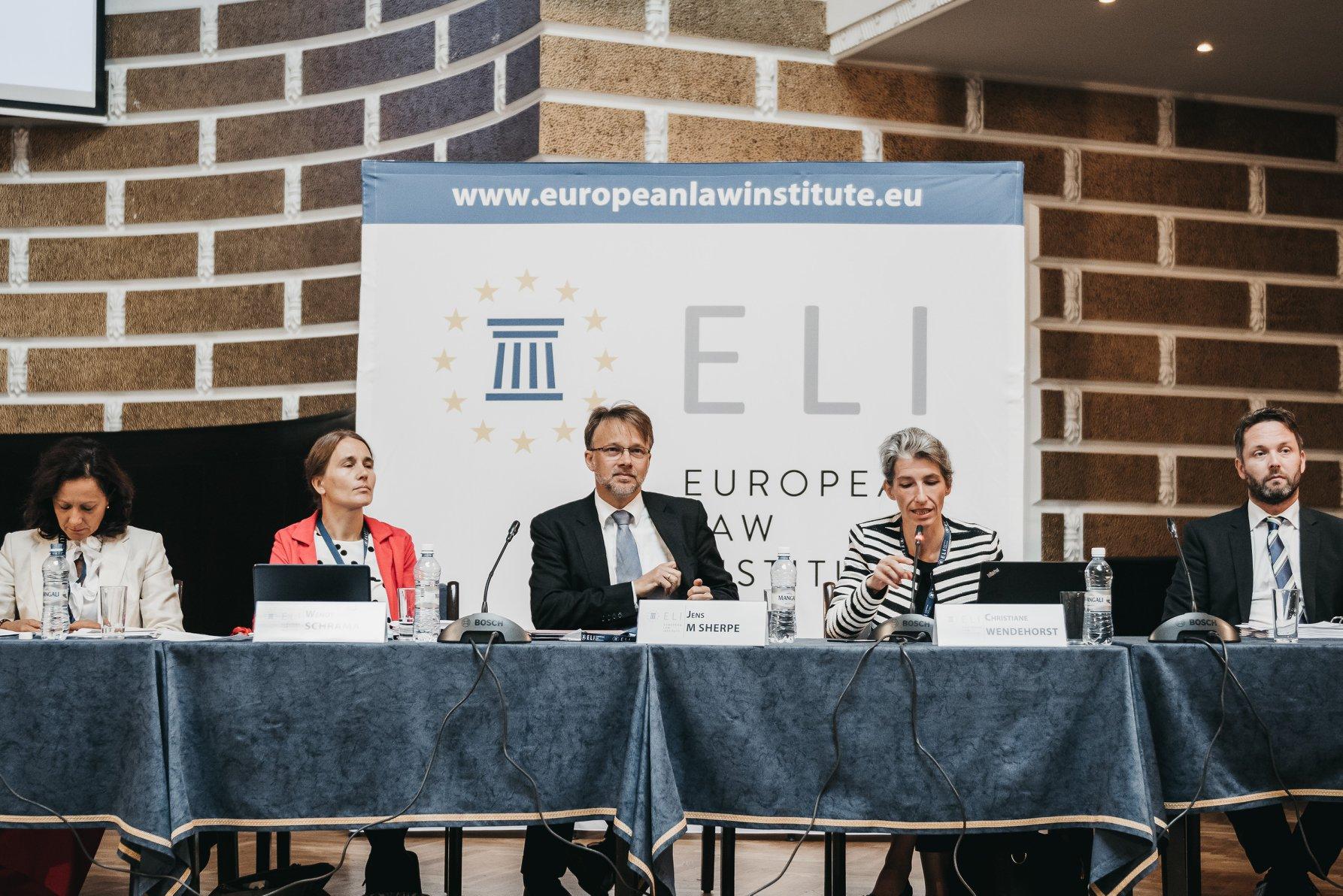 Me ftesë të Presidentes së Institutit për të Drejtën Evropiane (ELI) Znj. Christiane Wendehorst, Kryetari i Gjykatës së Lartë Z. Xhezair Zaganjori mori pjesë në Konferencën Vjetore dhe Asamblenë e Përgjithshme të këtij Instituti.